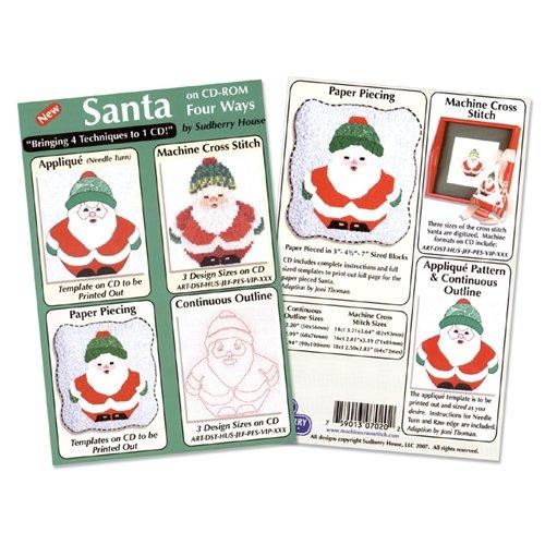 Santa Four Way Design CD by Sudberry