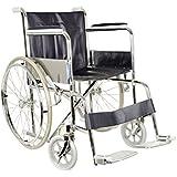 GIMA 27709, Sedia a rotelle pieghevole standard per anziani