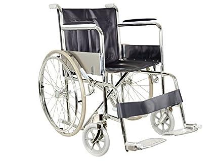 Gima 27709 Sedia A Rotelle Pieghevole Standard Per Anziani