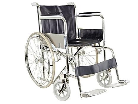 Sedie A Rotelle Per Scale : Gima sedia a rotelle pieghevole standard per anziani amazon