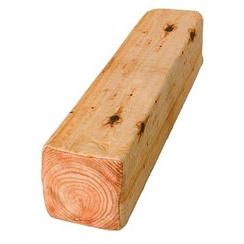 Trendaffe Holzbalken Kissen Holzklotz Dekokissen Deko Kissen