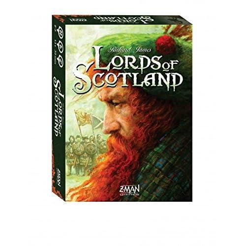 Z-Man Games Lords de l'Écosse Jeu de cartes