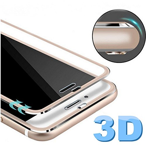 Bakeey Titanium Alloy 3D Arc Edge 9H 0.26mm Tempered Glass Screen Protector for iPhone 7/8 SINGLE ITEM