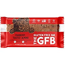 The GFB Gluten Free, Non-GMO High Protein Bars, Cranberry Toasted Almond, 2.05 Ounce (Pack of 12) Packaging May Vary
