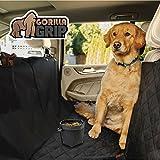 Gorilla Grip Original Slip-Resistant Durable and Premium Pet Car Seat Protector for Pets, Waterproof, Underside Grip (Black) (Hammock (Quilted))