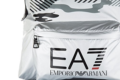 Emporio Armani EA7 sac à dos homme train core graphic argent
