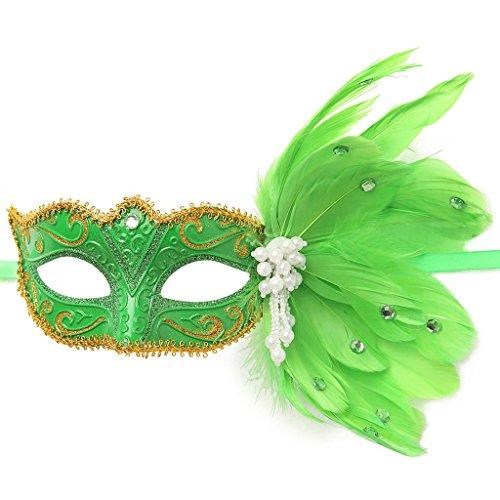 Clear (Green Masquerade Masks)