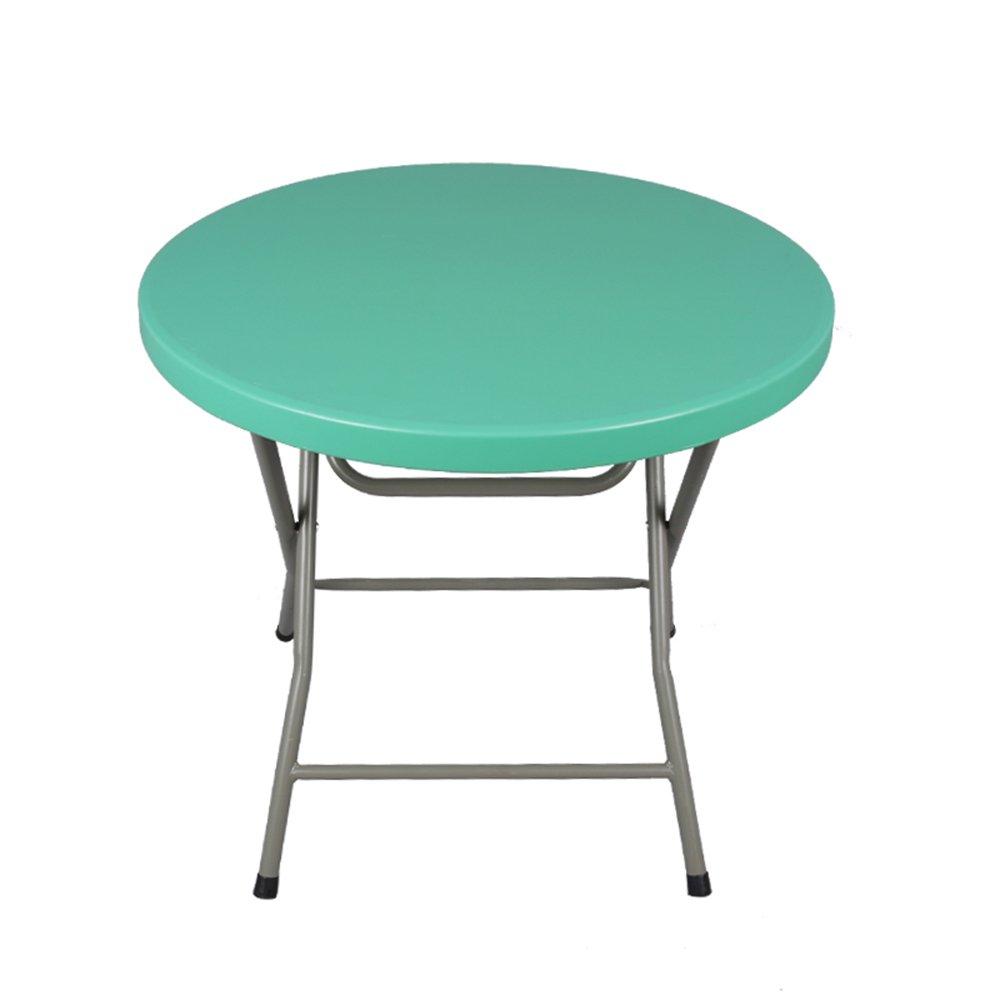 HAKN 折りたたみダイニングテーブルラウンドダイニングテーブル簡単なディナーテーブル4色80 * 74センチメートル ( 色 : C ) B078MV1X61 C C