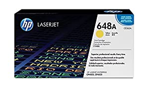 Amazon.com: HP 648A (CE262A) Yellow Original LaserJet Toner ...