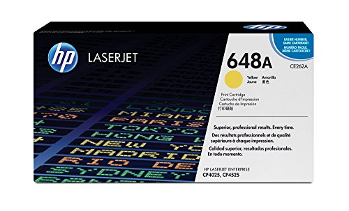 HP 648A | CE262A | Toner Cartridge | Yellow (Hp Laserjet Cp4520 Ink)