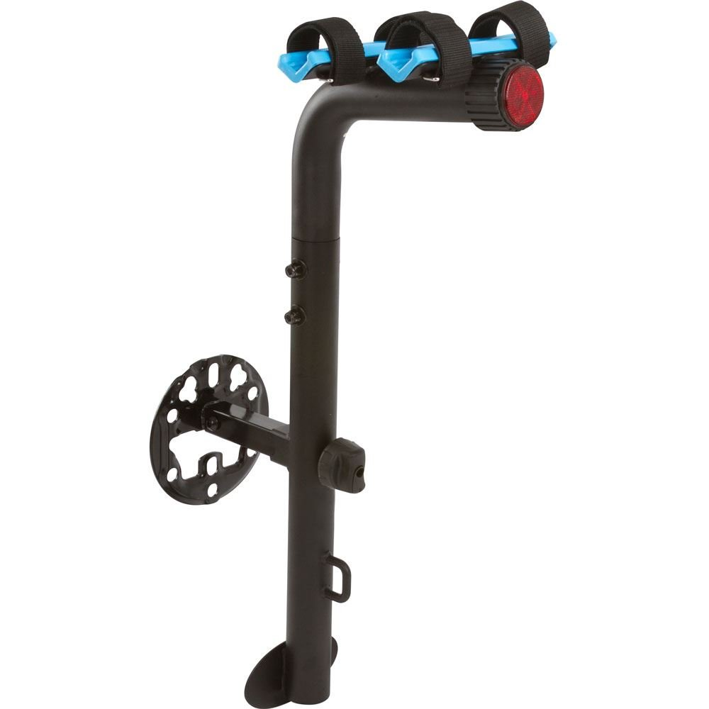 APEX LEGENDS Rage Powersports BC-8407-2 Blue Devil 2-Bike Spare Tire Mounted Bicycle Carrier Rack