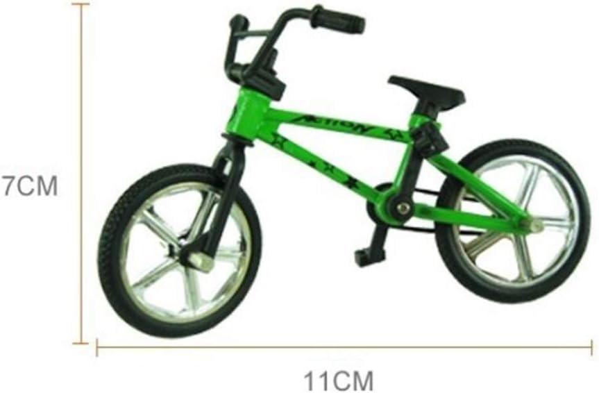 Mini Alloy BMX Finger Bicycle Model Bike Fans Kids Children Toy Gift Decor Affrd