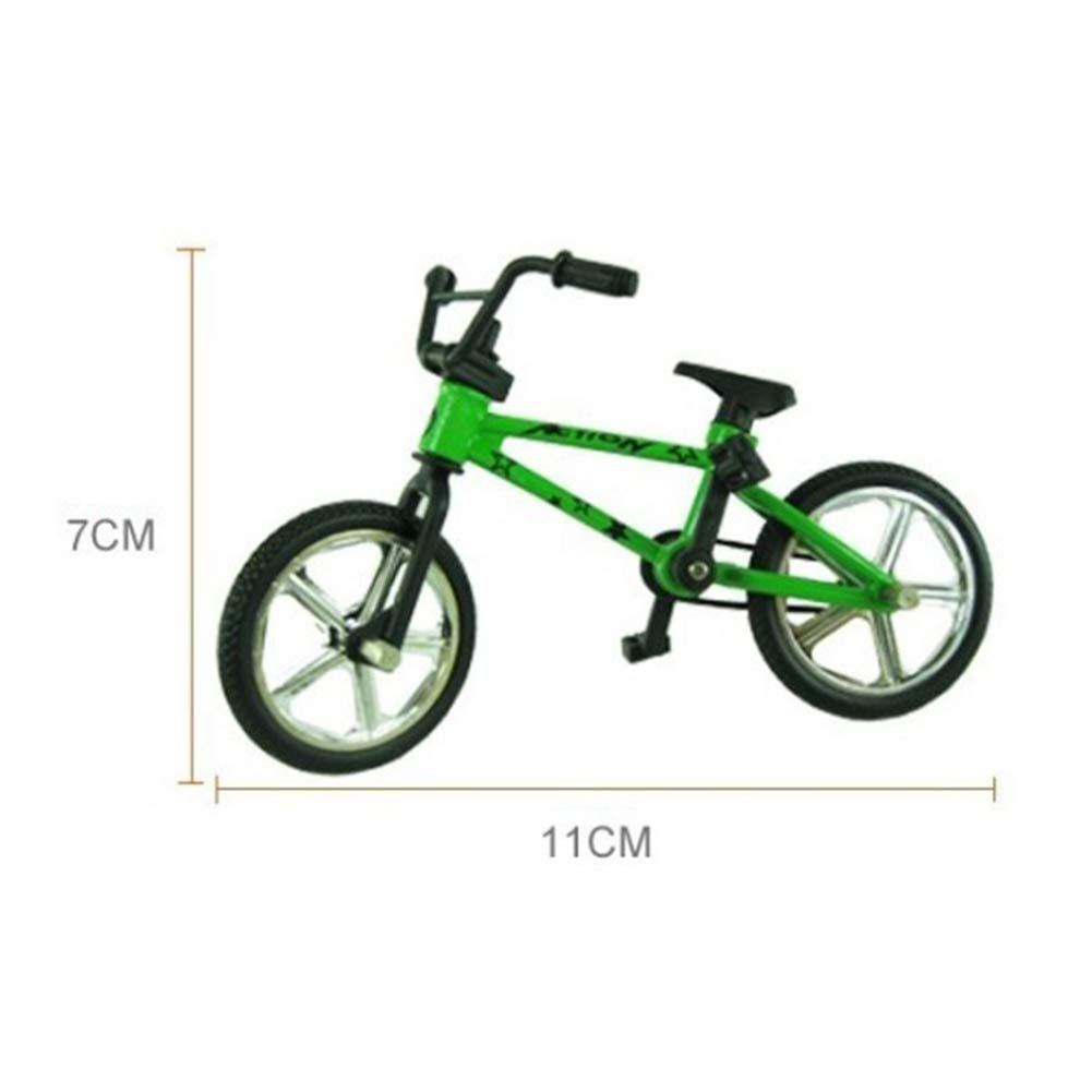 Random Color Anniston Kids Toys Mini Alloy BMX Finger Bicycle Model Bike Fans Kids Children Toy Gift Decoration Classic Toys for Baby Children Toddlers Boys /& Girls