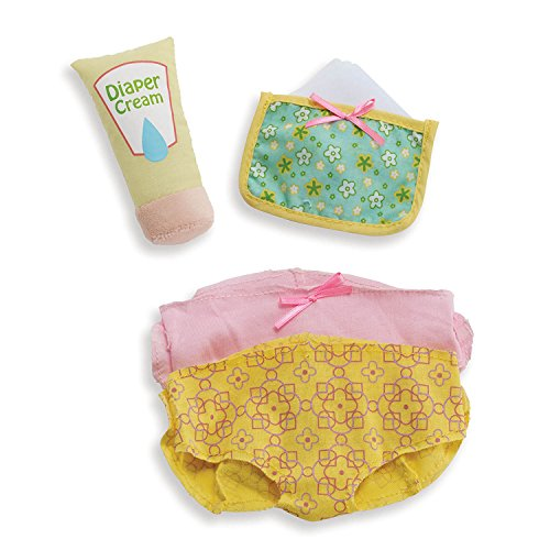 Manhattan Toy Wee Baby Stella Diaper Changing Baby Doll Accessories Set for 12 Dolls