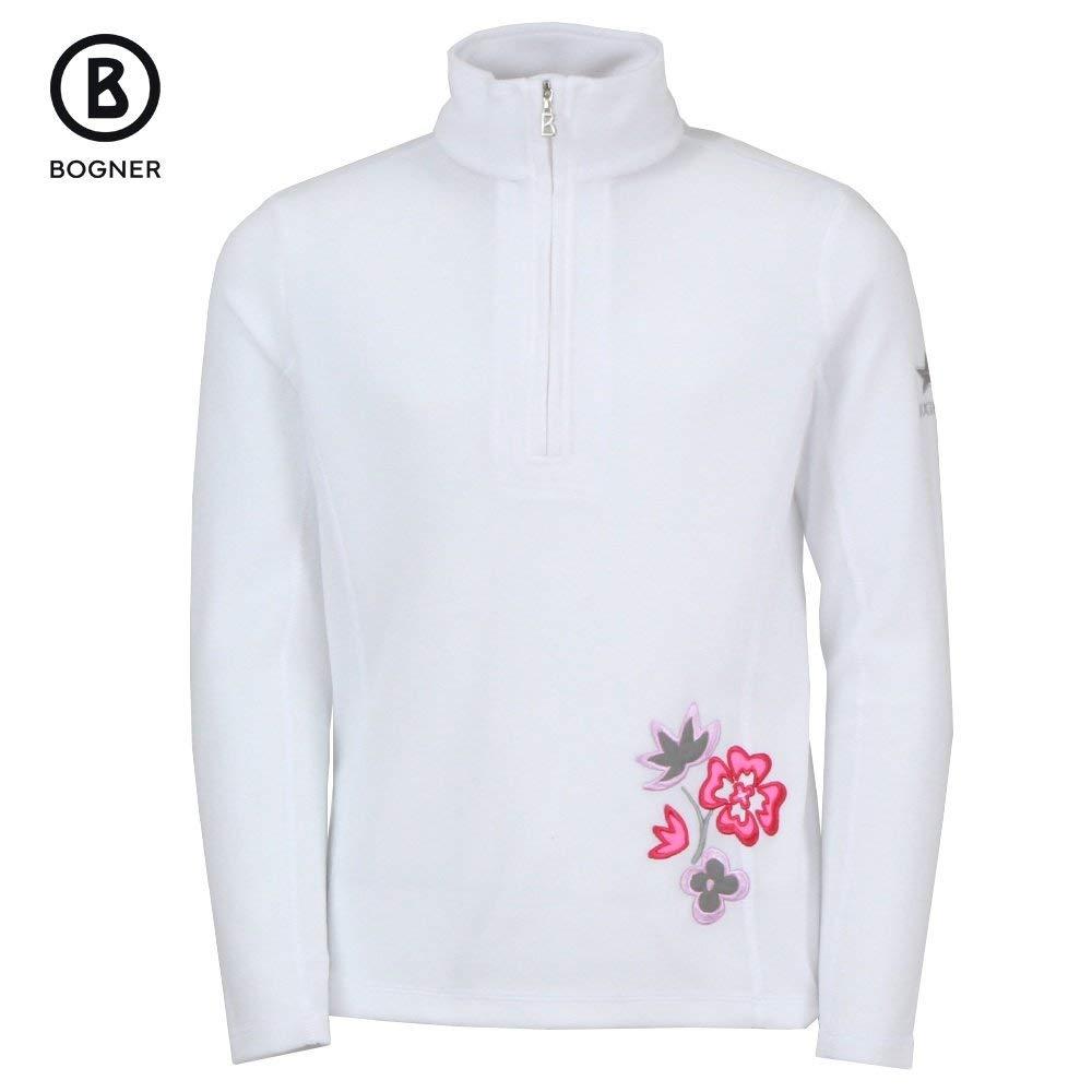 Bogner Adela 1/4-Zip Fleece Mid-Layer Girls Off White