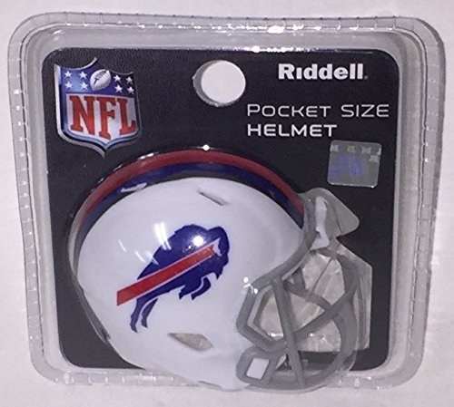Football Mini Bills Buffalo Helmet - Buffalo Bills Riddell Speed Pocket Pro Football Helmet - New in package