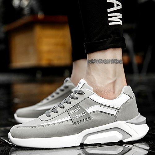 Leisure UK7 41 Tide 8 5 Colors Feifei Size Shoes Autumn EU Shoes CN42 3 Fashion and Spring Movement Men's Color 02 AxYqTT