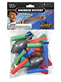 Stomp Rocket Squeeze Rocket, 10 Rockets [Packaging May Vary]