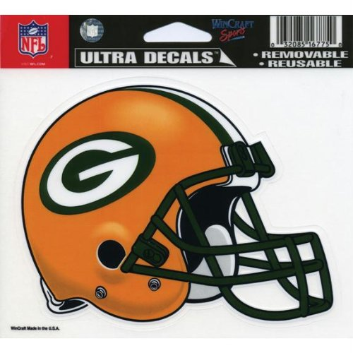 Old Glory Green Bay Packers - Helmet Decal (Stock Bay Green Buy Packer)