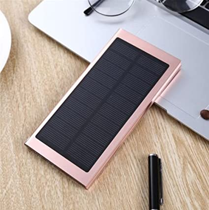 Amazon.com: tavlar 100000 mAh Dual USB Portable Solar ...