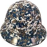 Texas America Safety Company Navy Digital Camo Full Brim Style Hydro Dipped Hard Hat