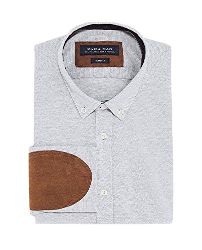 Zara Uomo Camicia Piqué Toppe 6264/400