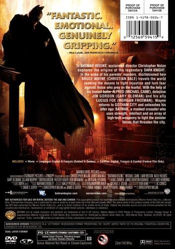 012569594159 - Batman Begins (Single-Disc Widescreen Edition) carousel main 2