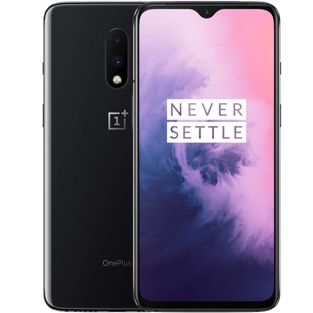 OnePlus 7 (Mirror Grey, 6GB RAM, Optic AMOLED Display, 128GB Storage, 3700mAH Battery) product image