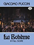 img - for La Boheme in Full Score (Dover Music Scores) book / textbook / text book