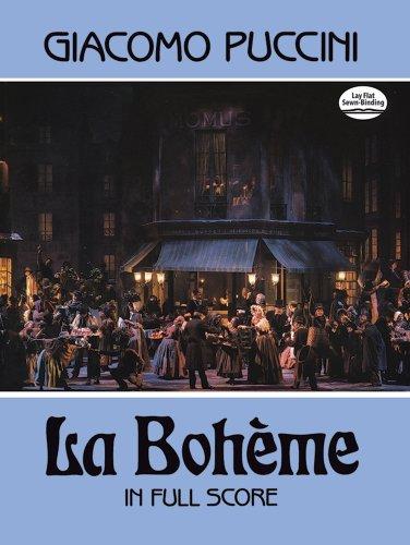 La Boheme in Full Score (Dover Music Scores) (La Boheme Score)