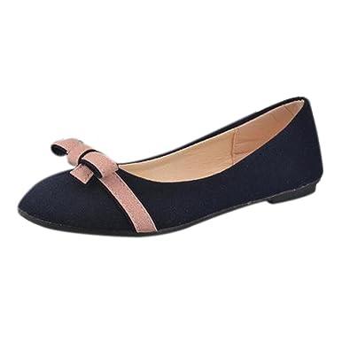8ae51cfe9b36 Klassische Brautschuhe Damen Ballerinas Schuhe Geschlossene Elegante  Slippers Stoffschuhe Spitze Schuhspitze Abendschuhe Slipper Party Schuhe  Geschlossene