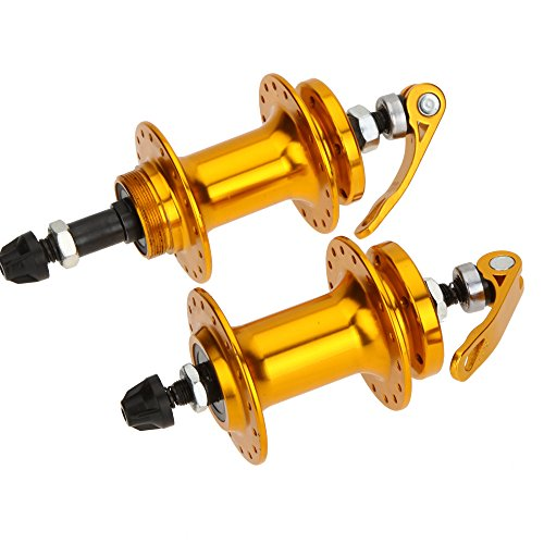 2pcs Aluminum Alloy Mountain Bicycle Bike Hubs Disc Brake