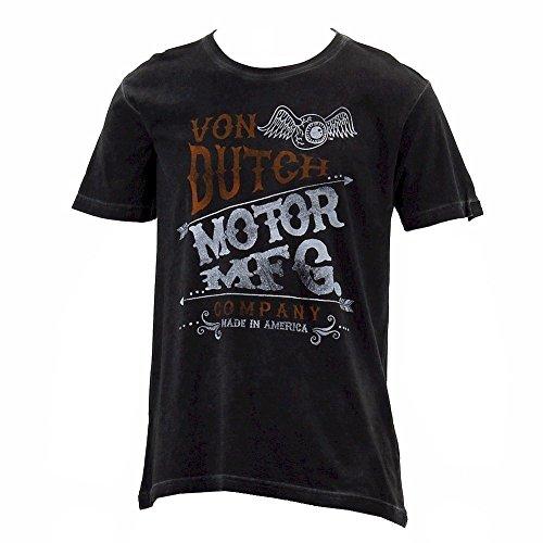von-dutch-mens-mfg-logo-black-oil-wash-crew-neck-short-sleeve-t-shirt-sz-l
