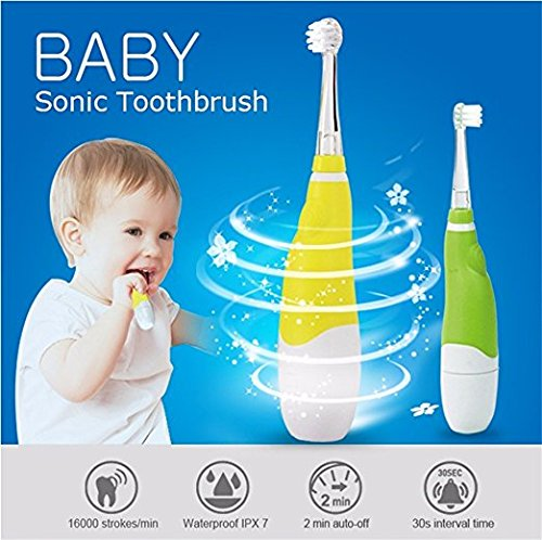 SEAGO Electrical Toothbrush for Baby Children, waterproof,Focus Old Baby