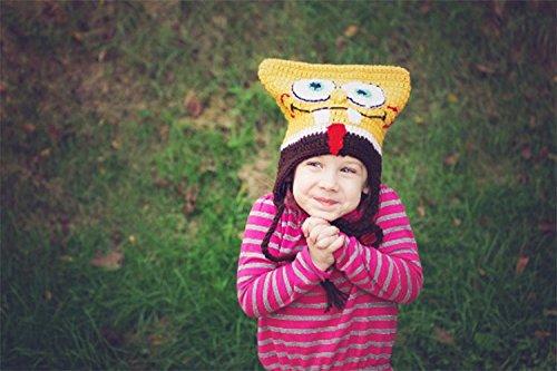 Amazon Crochet Spongebob Childs Hat Handmade