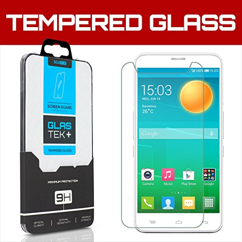 Tempered Glass Screen Protector for Alcatel One Touch Flash - 4