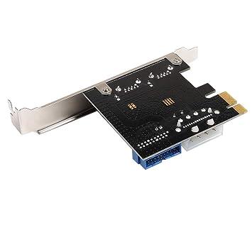 SM SunniMix PCI-E A 2 Puertos USB 3.0 PCI Express Tarjeta De ...