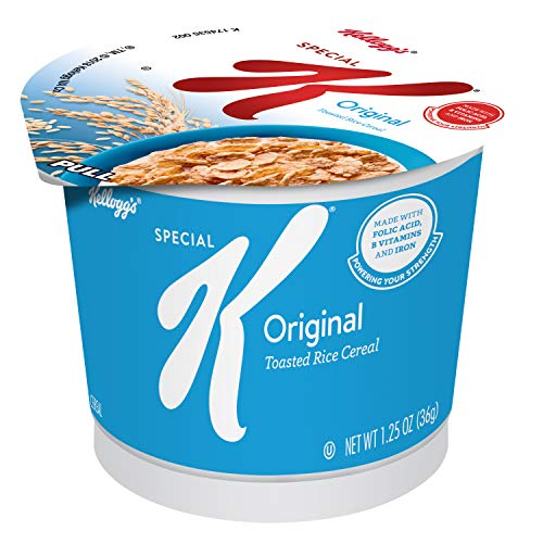 Special K Original Kellogg's Breakfast Cereal In A Cup (Pack of 60) ()