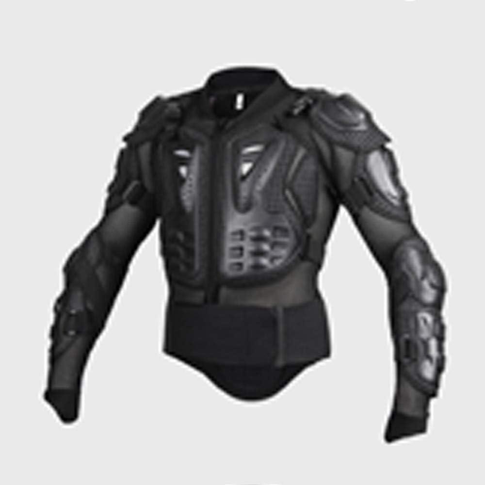Asdomo Veste de Protection pour Moto Noir et Rouge