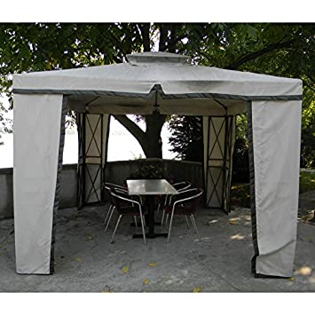10 x 10 X-Panel Gazebo Replacement Canopy and Netting  sc 1 st  Amazon.ca & 10 x 10 X-Panel Gazebo Replacement Canopy and Netting: Amazon.ca ...