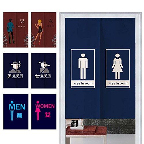 FANCY PUMPKIN [Customization]Restaurant Door Hallway Curtain Tapestry Entrance Lavatory Curtains, 04