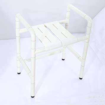 Duschstuhl ältere Person Mit Einer Behinderung Baden Stuhl Sitzen In
