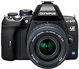 Olympus E-620 SLR-Digitalkamera (12,3 Megapixel, Bildstabilisator, Live View, Art Filter) Kit inkl. 14-42mm & 40-150mm Objektive