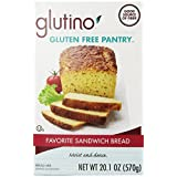 Glutino Gluten Free Pantry Favorite Sandwich Bread Mix 20.1 Ounce (Pack of 6)
