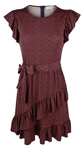 Michael Kors Women's Flutter Wrap Skirt Dress-TB-M