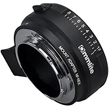 amazon com commlite manual focus mf lens mount aadpter with rh amazon com Sony NEX 5 Guide Sony NEX 5T Camera