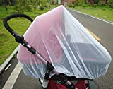 Ewinsun Universal Full Cover Baby Mosquito Net for Strollers, Carriers,Cradles,White Portable Infant Insect Bug Netting