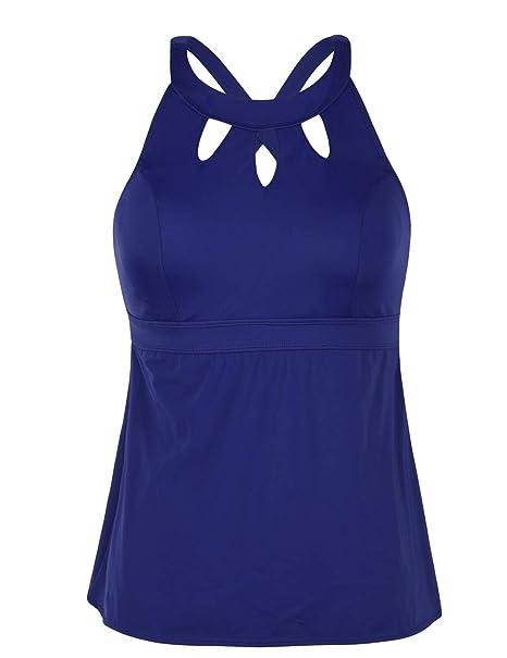 Amazon.com: Septangle traje de baño para mujer con espalda ...