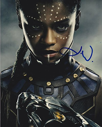 Letitia Wright signed Black Panther 8x10 photo