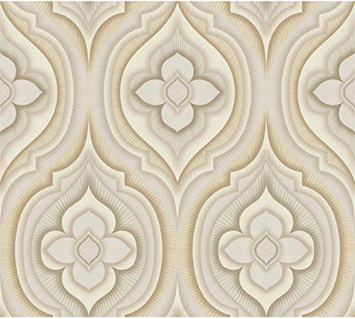 York Wallcoverings SN1314 60.75 Square Foot - Rhapsody - Unpasted Non-Woven Wall, N/A ()